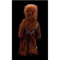 Lot # 108: 4-Foot Plush Chewbacca Canadian Store Display