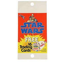 Lot # 111: Star Wars Trading Card Wonder Bread Pole Displ