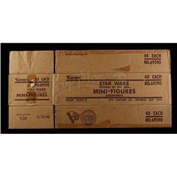 Lot # 119: ROTJ Miniature Figures Shipping Box