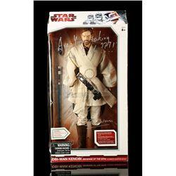 Lot # 126: Ewan McGregor Autographed Jumbo Obi-Wan Kenobi