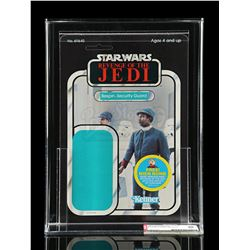Lot # 153: ROTJ Proof Card - Bespin Security Guard (Black