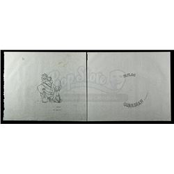 Lot # 161: Hand-Drawn Paploo Coin Original Artwork (6:1 S