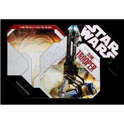 Lot # 177: Unproduced Clone Trooper Cardback