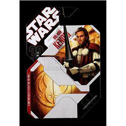 Lot # 180: Unproduced Obi-Wan Kenobi Cardback