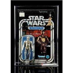 Lot # 183: C-3PO (SKU On Footer) SW12A AFA 90