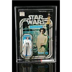 Lot # 184: Princess Leia Organa SW12C AFA 80