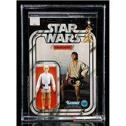 Lot # 185: Luke Skywalker SW12A AFA 90