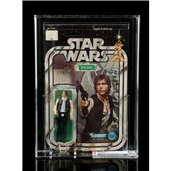 Lot # 186: Han Solo (White Footer) SW12A CAS 50