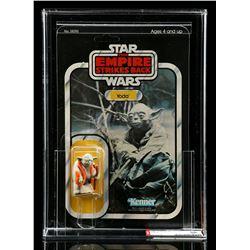 Lot # 209: Yoda (with Orange Snake) ESB32B AFA 60 [Kazanj
