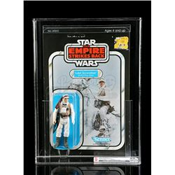 Lot # 224: Luke Skywalker (Hoth Battle Gear) ESB48A CAS 8