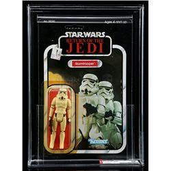 Lot # 256: Stormtrooper ROTJ77A AFA 85Y