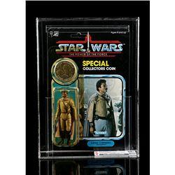 Lot # 294: Lando Calrissian (General Pilot) POTF CAS 70Y+