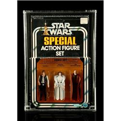 Lot # 302: Hero Set SW Series 1 3-Pack AFA 75