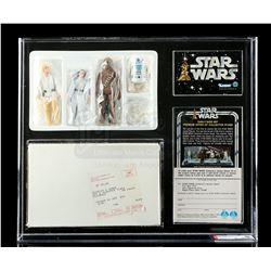 Lot # 305: Star Wars Early Bird Set Mailer Kit AFA 80+