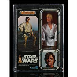 Lot # 314: Large Size Luke Skywalker AFA 85