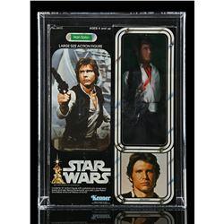 Lot # 315: Large Size Han Solo AFA 80
