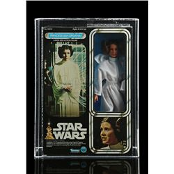 Lot # 317: Large Size Princess Leia Organa AFA 90