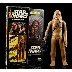 Lot # 322: Large Size Chewbacca (With Bandolier and Bowca