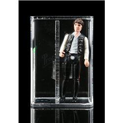 Lot # 342: Loose Han Solo (Large Head) AFA U85