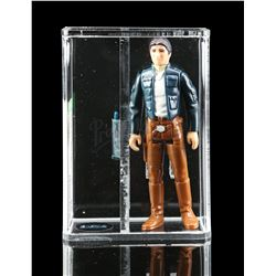 Lot # 354: Loose Han Solo (Bespin Outfit) AFA 85