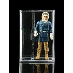 Lot # 359: Loose Han Solo (Hoth Battle Gear) AFA U85