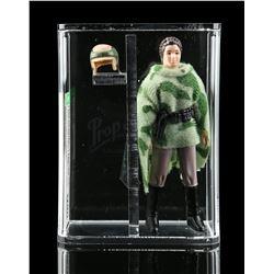 Lot # 379: Loose Princess Leia (Combat Poncho) AFA U90