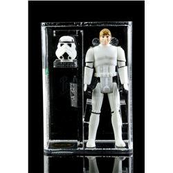 Lot # 385: Loose Luke Skywalker (Stormtrooper) AFA U90