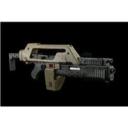 Lot # 388: Replica M-41 Pulse Rifle Background Model
