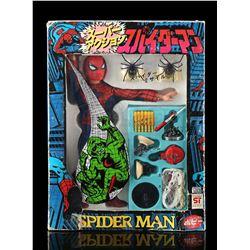 "Lot # 393: Popy 12"" Japanese Spider-Man"