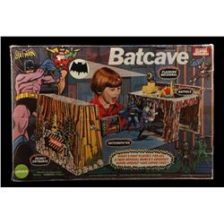 Lot # 396: Mego Batcave Playset (Large Box Version)