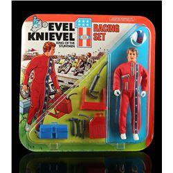 Lot # 444: Evel Knievel Racing Set
