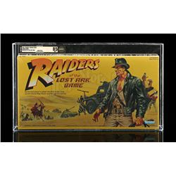 Lot # 464: Raiders Of The Lost Ark AFA 85 - Sealed