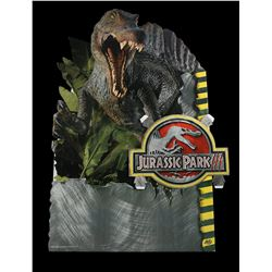 Lot # 476: Jurassic Park III Store Display Standee - Unus