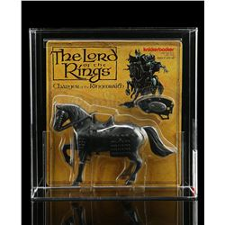 Lot # 486: Charger Of The Ringwraith AFA 70