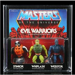 Lot # 501: Evil Warriors Set AFA 70