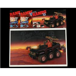 Lot # 517: Original Hand-Painted Defender Assault Vehicle