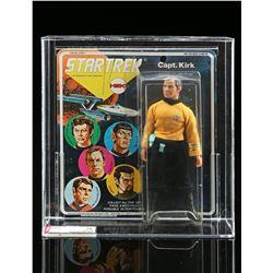 Lot # 529: Captain Kirk Series 1 AFA 75