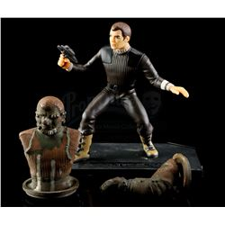 Lot # 540: Captain Kirk Rotomold With Production Toy