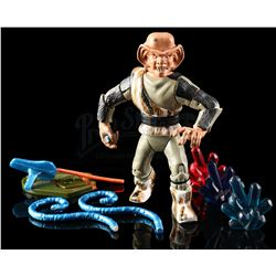 Lot # 544: Hand-Painted Ferengi Hardcopy With Accessories