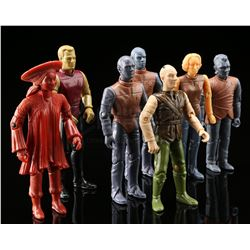 Lot # 546: 7 Unpainted Star Trek First Shot Prototypes