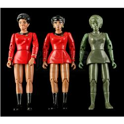 Lot # 549: Hand-Painted Uhura Hardcopy and Two First Shot