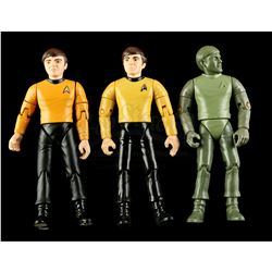 Lot # 552: Hand-Painted Chekov Hardcopy and Two First Sho