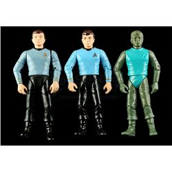 Lot # 553: Hand-Painted Bones McCoy Hardcopy and Two Firs