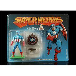 Lot # 558: Gulliver Capitão América (Captain America)