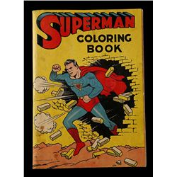 Lot # 570: Superman Coloring Book