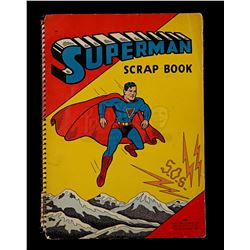 Lot # 571: Superman Scrap Book