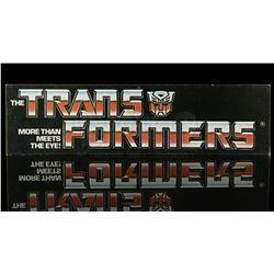 Lot # 601: Transformers Store Display