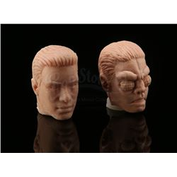 Lot # 603: 2 Marco Beetle Animorphs Head Sculptings