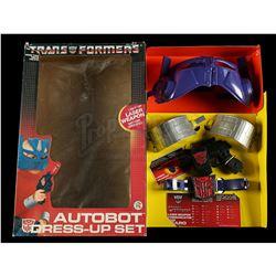 Lot # 604: Autobot Dress-Up Set