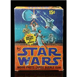 Lot # 621: Topps Star Wars Movie Photo Cards Bubble Gum (
